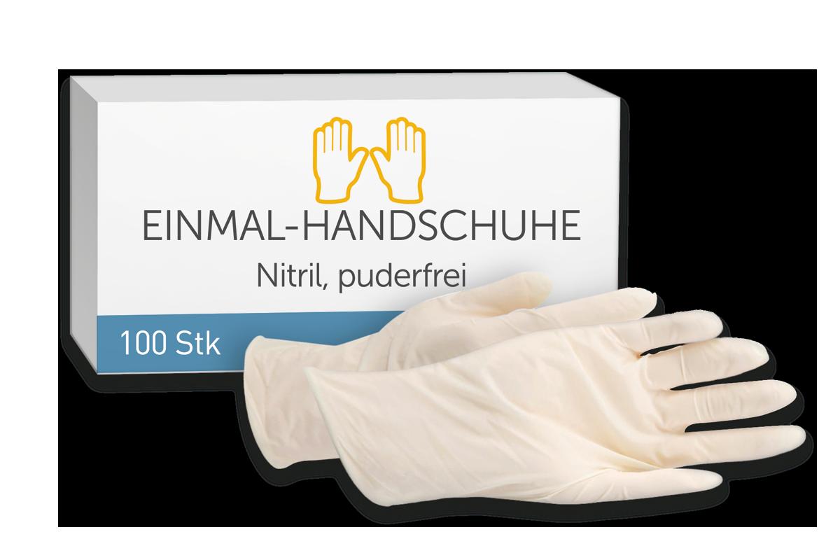 SIGUBOX Einmal-Handschuhe, Nitril, puderfrei
